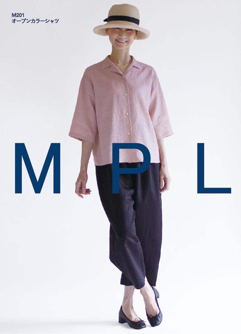 オープンカラーシャツ(M201)
